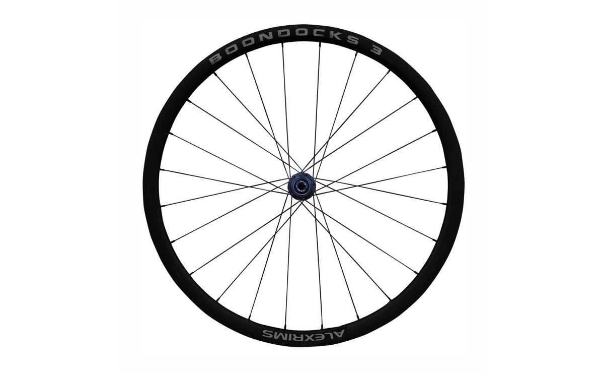 Alexrims BOONDOCKS 3 700c wheelset