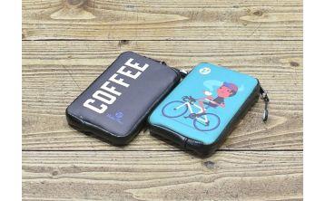 RidePac Mini Maroon Cycling Wallet