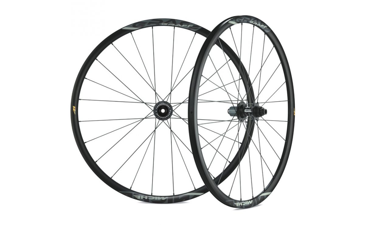 Miche Graff 700c wheelset disc