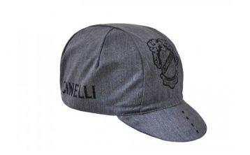 Cycling Cap Cinelli Crest Grey