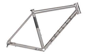 Reilly Gradient Titanium Gravel Frame