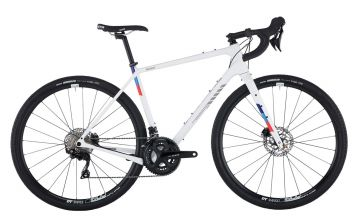 Salsa Warbird Carbon 105 White gravel bike
