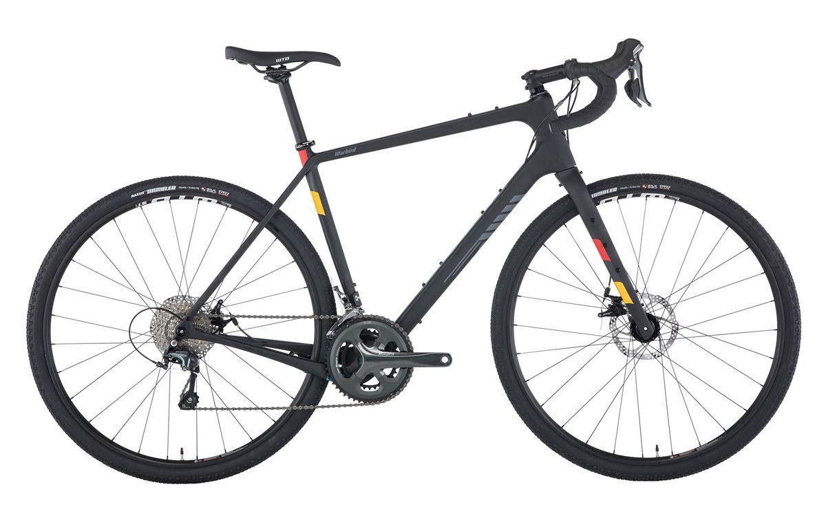 Salsa Warbird Carbon Tiagra Raw gravel bike
