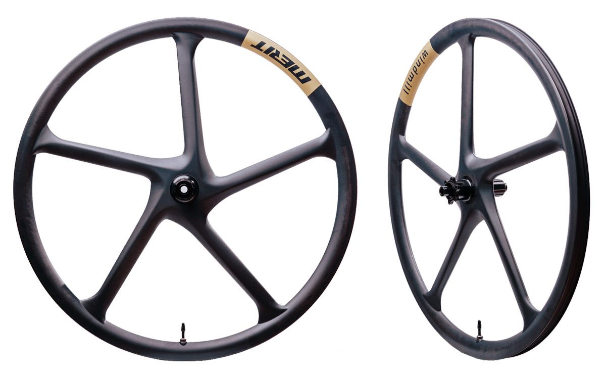 Merit Windmill 622 Full Carbon Wheels matt
