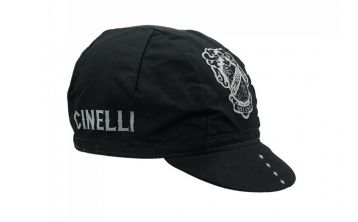 Cycling Cap Cinelli Crest Black