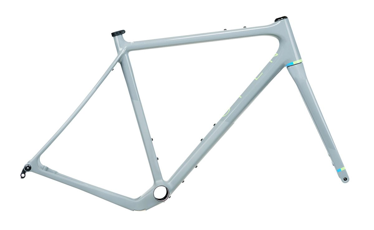 Open WI.DE. Grey carbon gravel bike