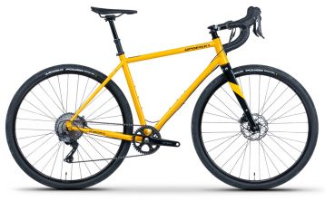 Qayron One.Dr CrMo Q yellow GRX 1x11 gravel bike