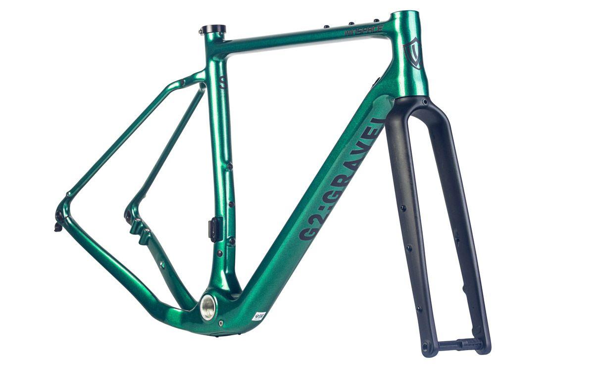 Winspace G2 Emerald Green gravel rám
